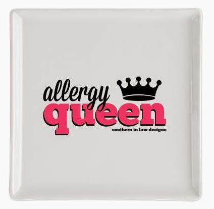 Allergy Queen Plate