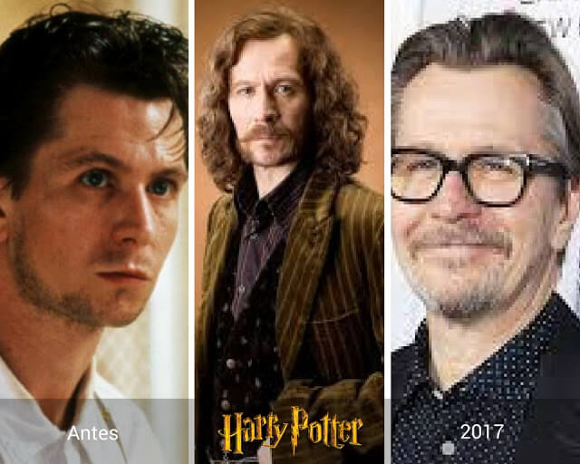 Gary Oldman, Sirious Black de Harry Potter