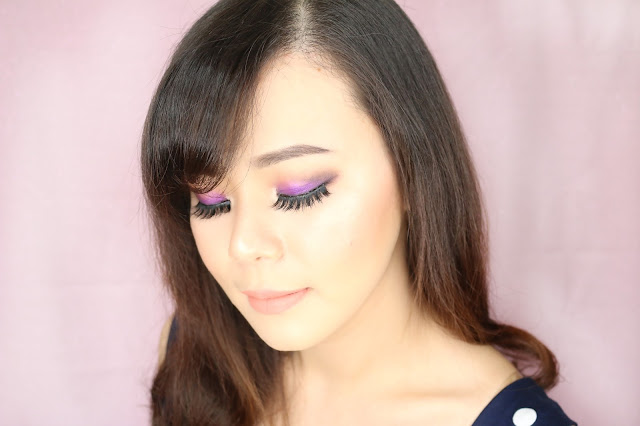 makeup, makeup tutorial, tutorial makeup, purple, purple eyeshadow, jean milka, makeup pemula, belajar makeup, easy makeup, indonesia beauty blogger, indonesian beauty blogger, indo beauty gram, beauty vlogger indonesia