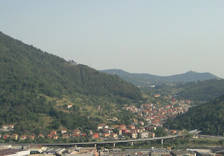 Gavarno is situated in a wooded valley near Bergamo