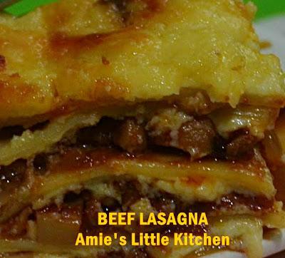 Resepi Lasagna Meleleh Copd Blog D