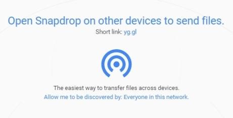 servizio condivisione scambio invio file tra dispositivi diversi