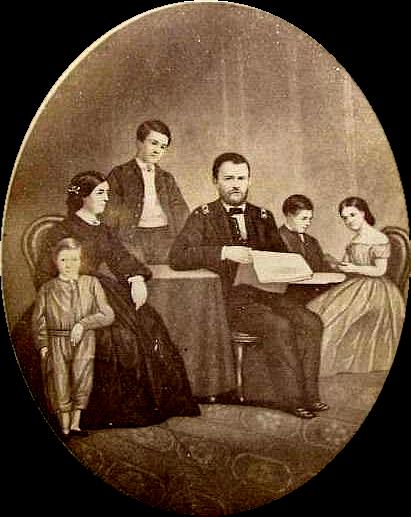 Ulysses S  Grant Famil...
