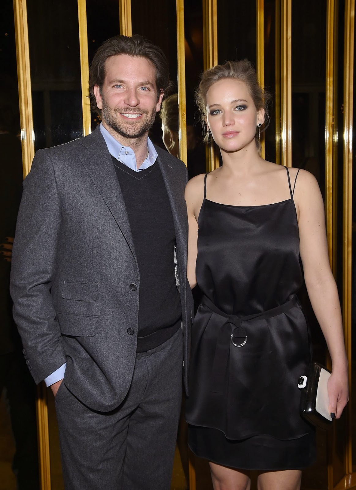Jennifer Lawrence and Bradley Cooper at the 'Serena' After-Party in New York