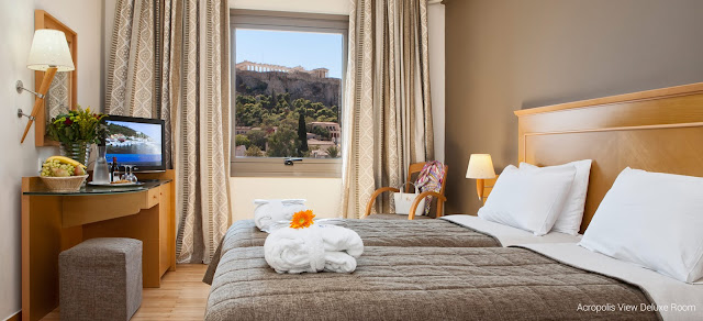 The Acropolis, Ancient Agora, Roman Forum, Parliament, museums, shopping area of Plaka and Ermou street, the Athens Cathedral are all on your door step from the hotel. You are really in the heart of Athens, in the most strategic and charming location.