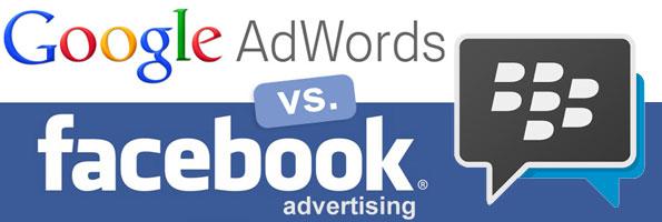 Facebook,Google, Iklan BBM