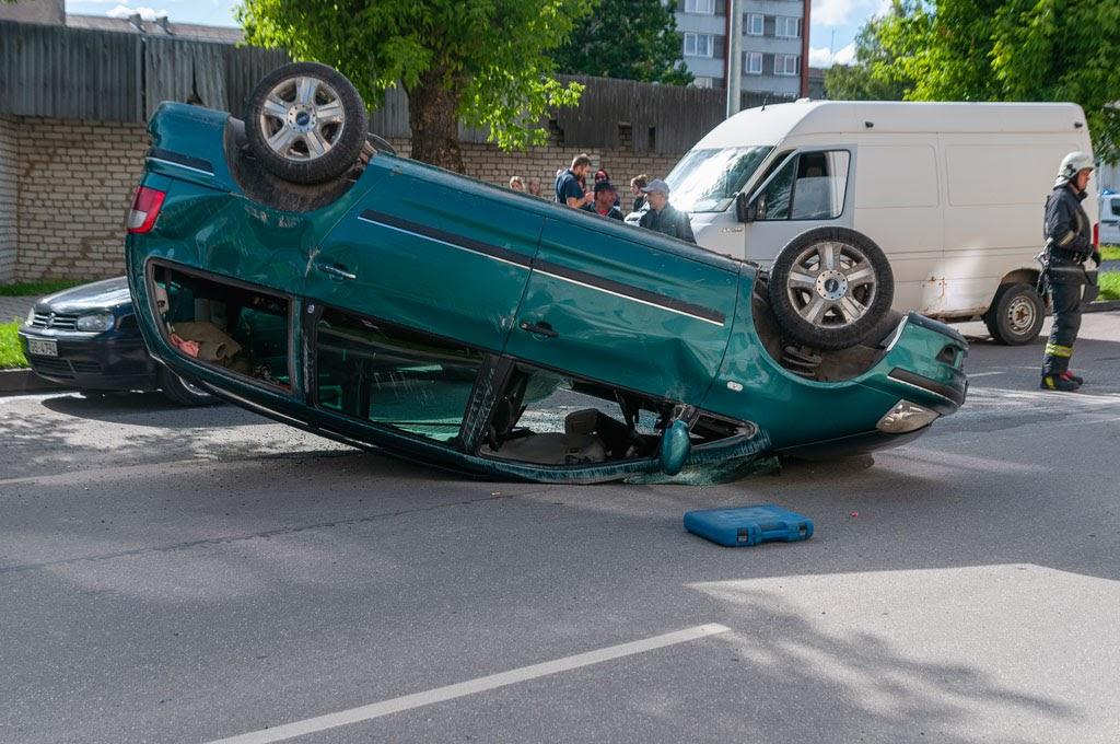 avārija Jelgavā 3