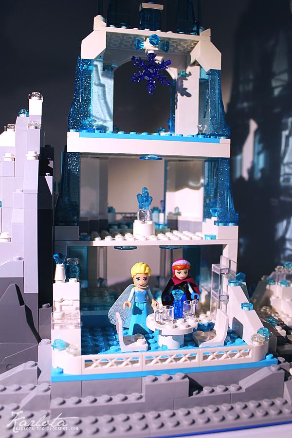 Moc Elsa S Sparkling Ice Castle Lego Licensed