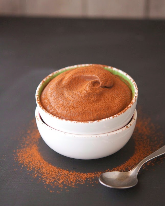 3-Ingredient Cocoa Mousse
