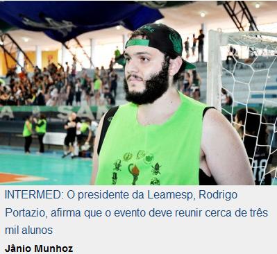 Organizador afirma que Intermed reúne atletas das principais instituições (Jornal O Diário de  Barretos)