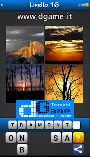 PACCHETTO 2 livello 16 - Soluzioni Trova la Parola - Foto Quiz con Immagini e Parole