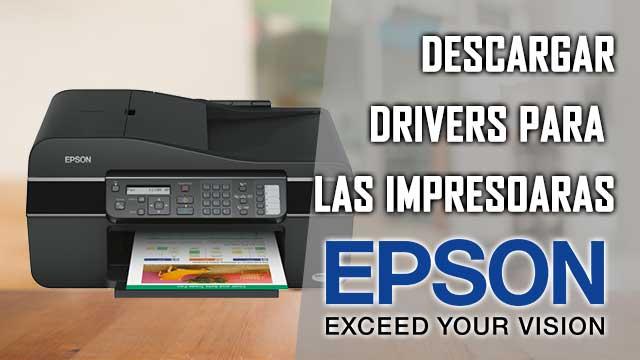 descargar Drivers de impresoras EPSON