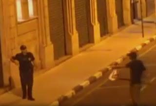 Câmeras flagram furto no Centro de Santos e marginal acaba detido pela Guarda Municipal