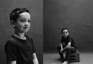 Kids portraits by Emilie White, A Mum in London