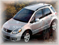 Mobil suzuki SX4, X-Over, Cross the limit, Agung Ngurah Car