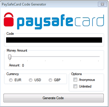 Paysafe Card Code