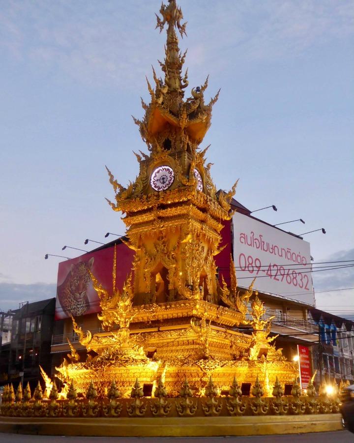 Chiang Rain kultainen kellotorni