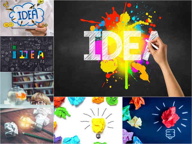 تحميل 7 صور لمفهوم الأفكار الإبداعية بجودة عالية