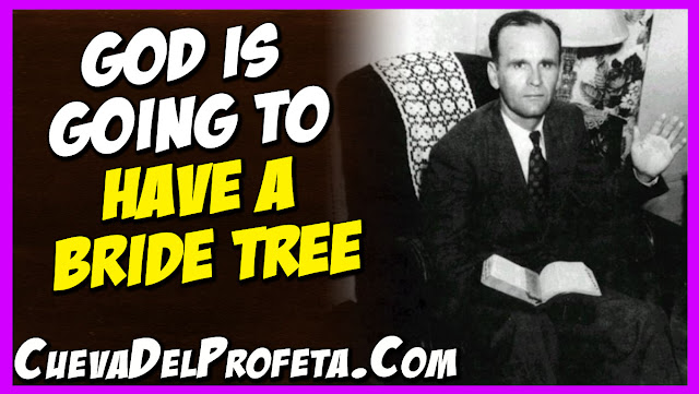 God is going to have a Bride Tree - William Marrion Branham Quotes