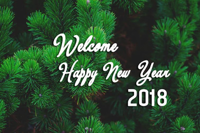 Welcome Happy New Year 2018 for Whatsapp Facebook