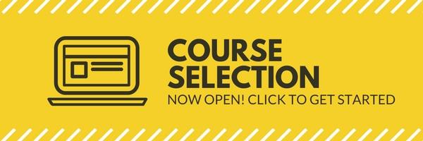 Announcement for Course Selection - Spring 2017 Semester