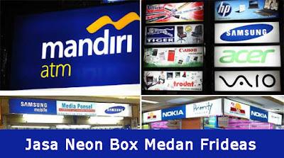 Jasa Neon Box Medan Frideas