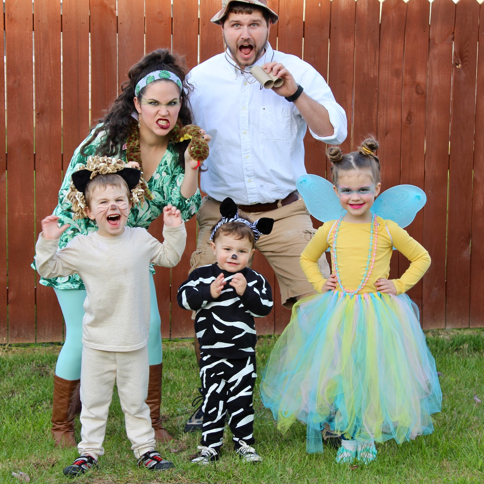 Halloween Costume Ideas For Family Of 3 With Toddler.Safari Themed Family Halloween Costume
