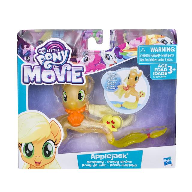 Seapony Applejack MLP Movie Brushable