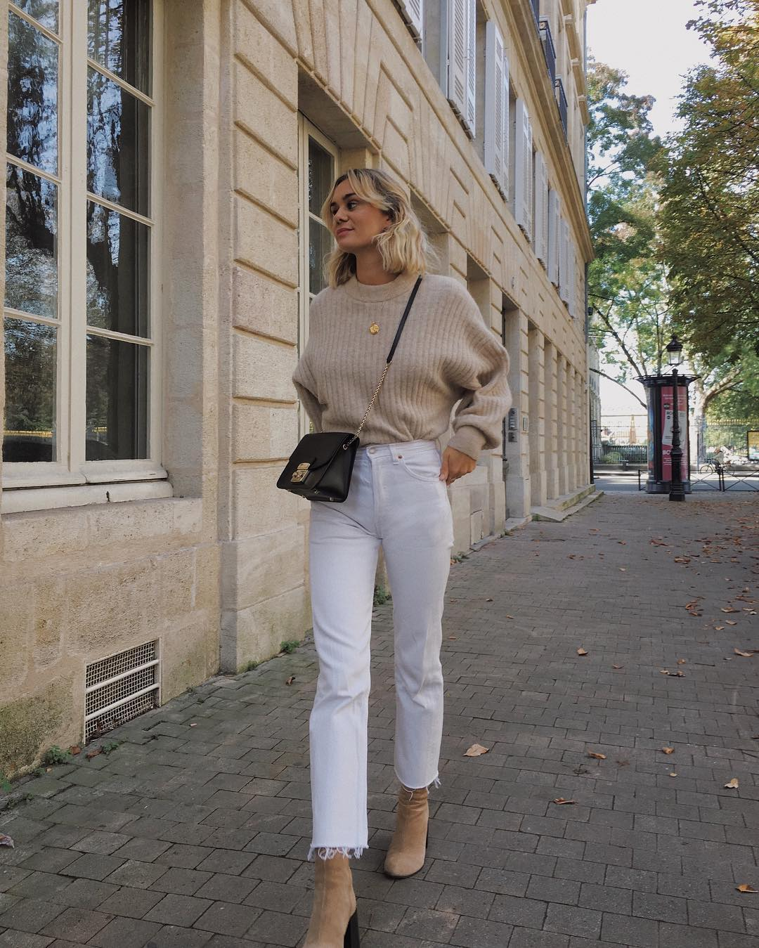 25 White Jeans We Have in Our Carts for Fall