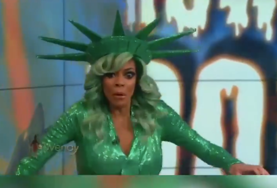 """Halloween Costume Overheating makes Wendy Williams faints on Live TV Show """"The Wendy Williams Show"""""""
