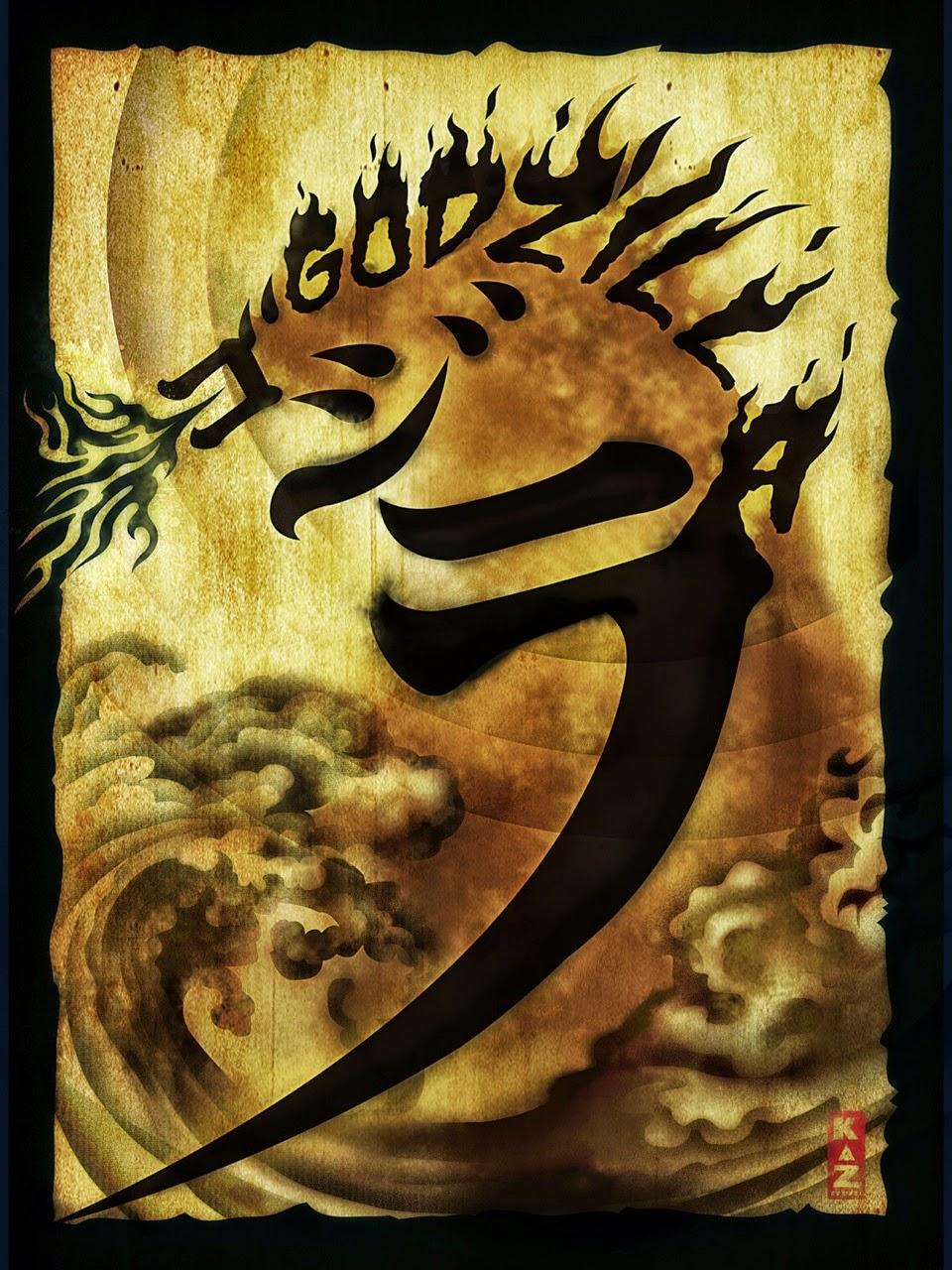The Geeky Nerfherder: Movie Poster Art: \'Godzilla\' (2014)