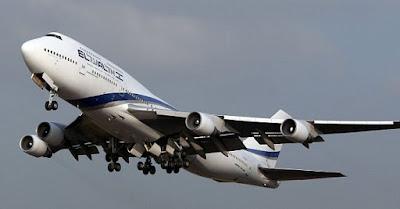 Un vuelo de la aerolínea israelí El Al que despegó de Nueva York fue escoltado por cazas franceses y suizos a su paso por el espacio aéreo europeo.