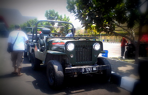 Jeep Lava Tour of Merapi