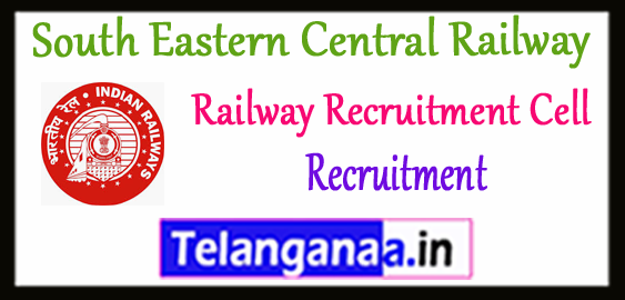 RRC SECR Railway Recruitment Cell South Eastern Central Railway  Bilaspur Recruitment 2017-18