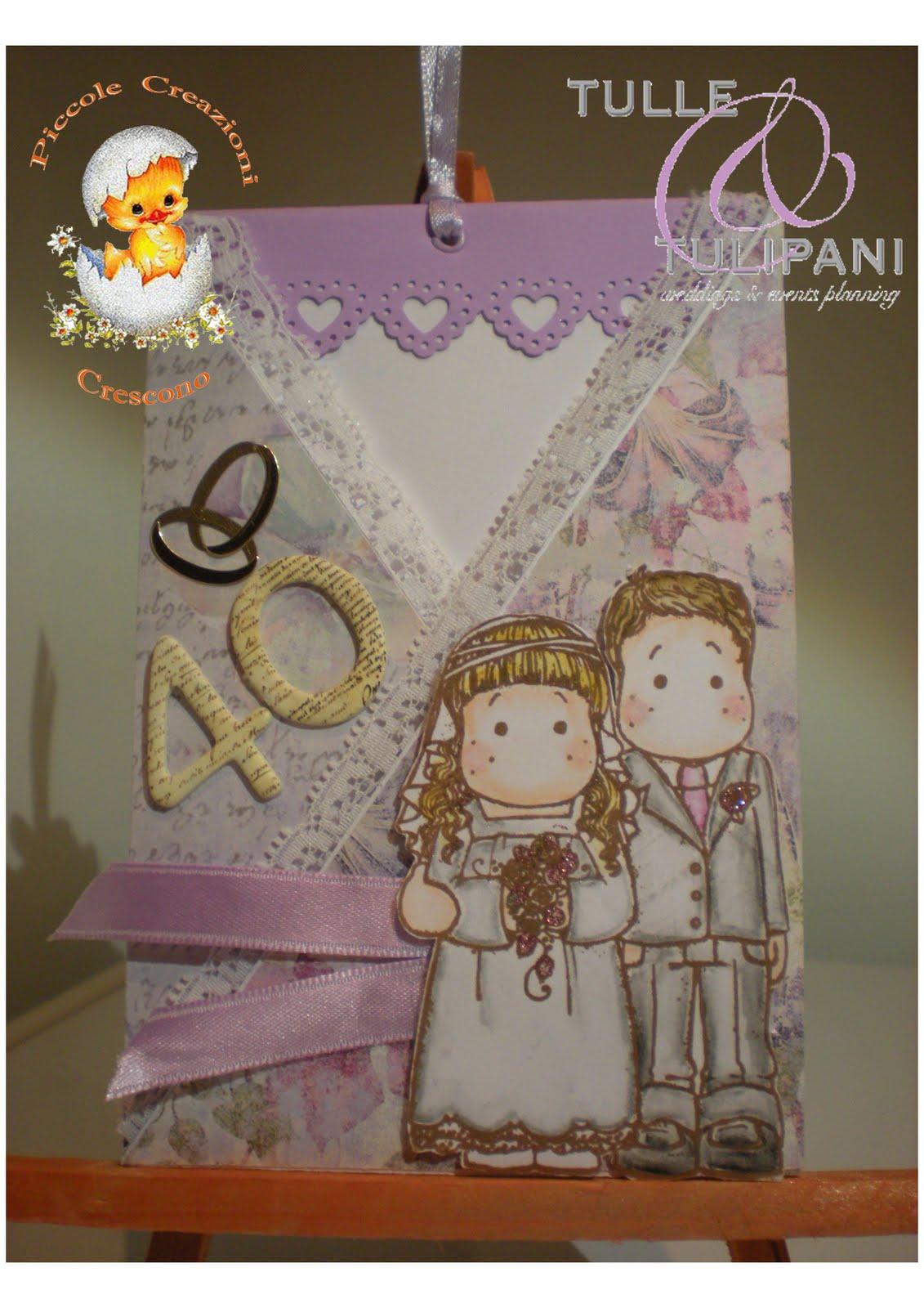 Estremamente Piccole Creazioni Crescono: 25 Aprile 2011: 40 anni di matrimonio  RF92