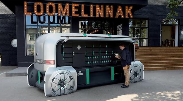 Renault EZ-PRO: an autonomous delivery robot for the last kilometer