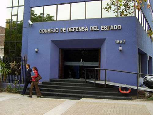 Resultado de imagen para consejo de defensa del estado santiago