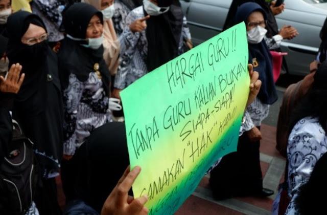 Demo Guru Sertifikasi di Pekanbaru Riau