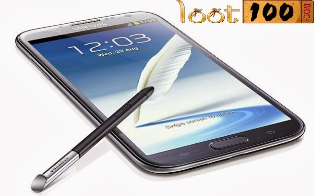 win Samsung Galaxy Note II | Win Online Quiz Contest India