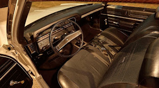 1969 Chevrolet Bel Air Sport Coupe L-72 Interior