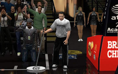 NBA 2K13 Spurs Court Sideline Characters Fix