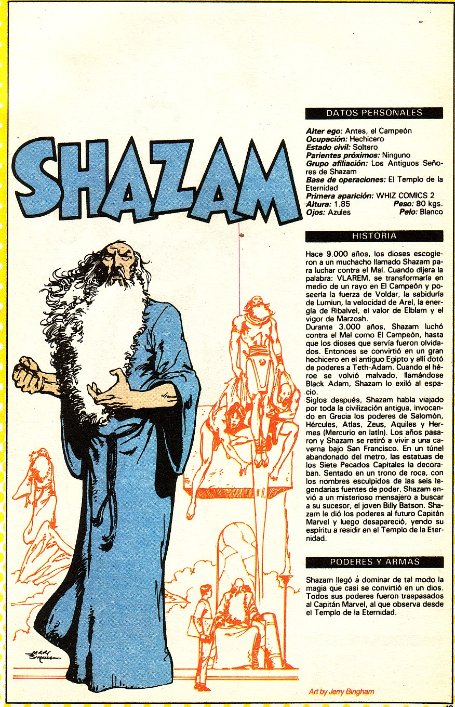 Shazam (ficha dc comics)