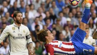 Real Madrid vs Atletico Madrid Berakhir Imbang 1-1