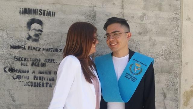 Marco Vidal graduación