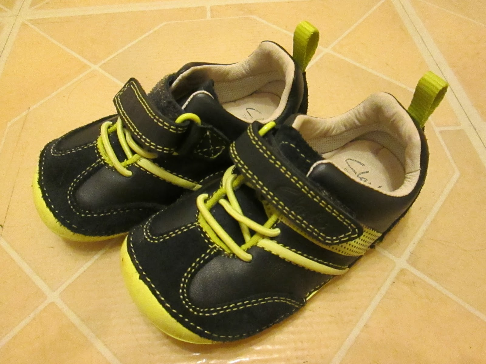 First Clarks shoes for Alexander age 18 months