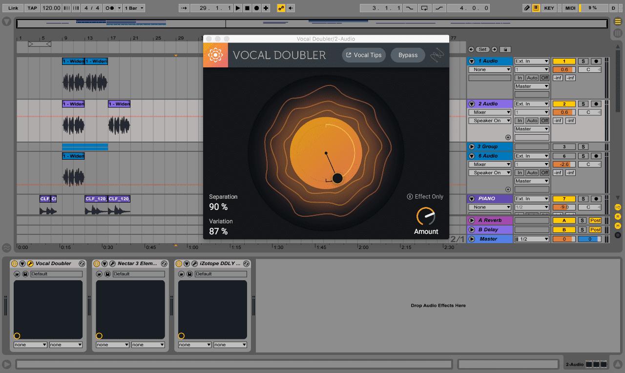 iZotope Vocal Doubler v1.0 VST Free Download
