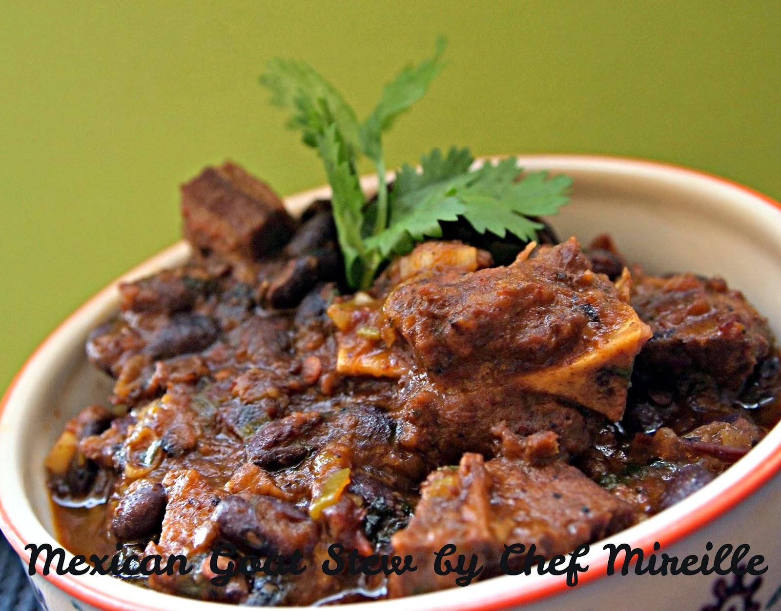Mexican Goat Stew - The Schizo Chef
