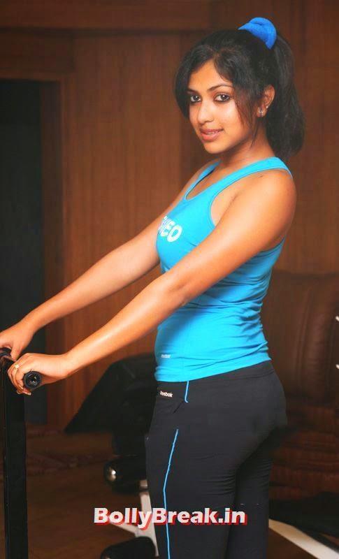 , Amala Paul - Tollywood Actress Hot Gym Pics