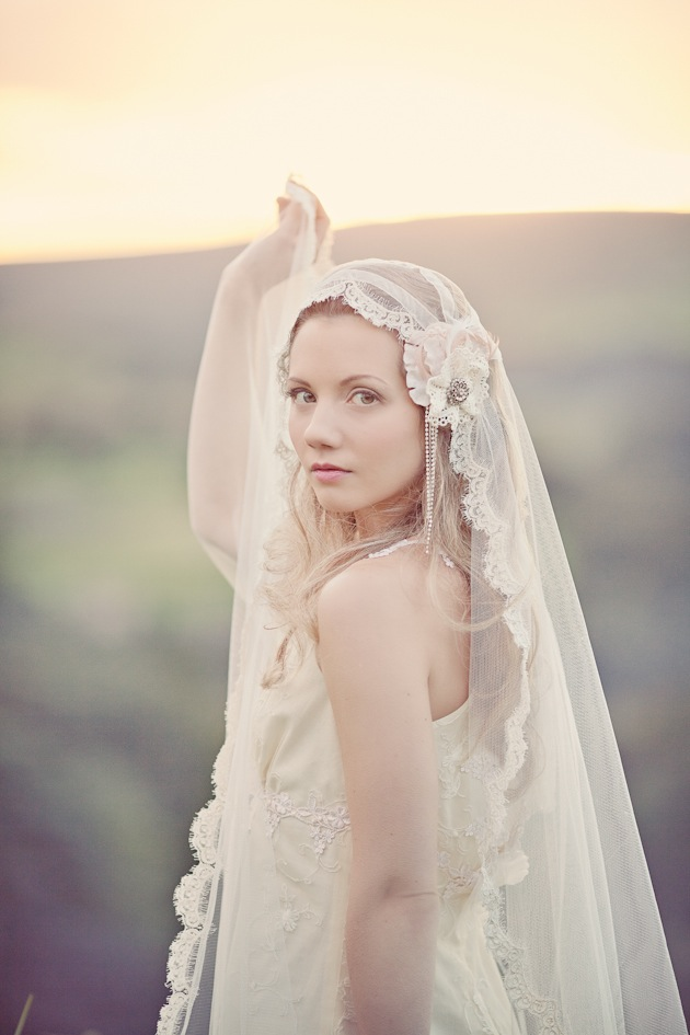 Lamb & Blonde: Beautiful Bridal Veils (a Belated Wedding
