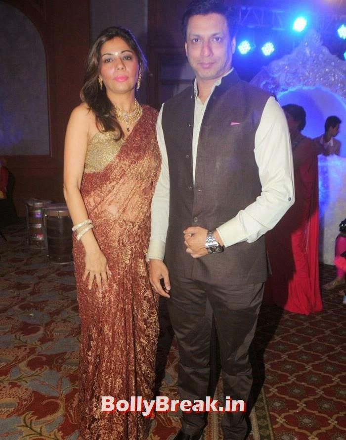 Madhur Bhandarkar, Manali Jagtap, Vicky Soor Engagement Ceremony Pics